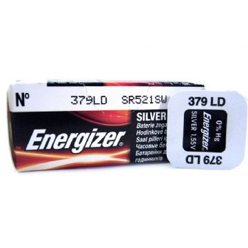 Energizer 379 SR521SW 1.5V Silver Oxide Watch Battery
